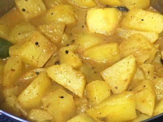 easy potato masala curry recipe