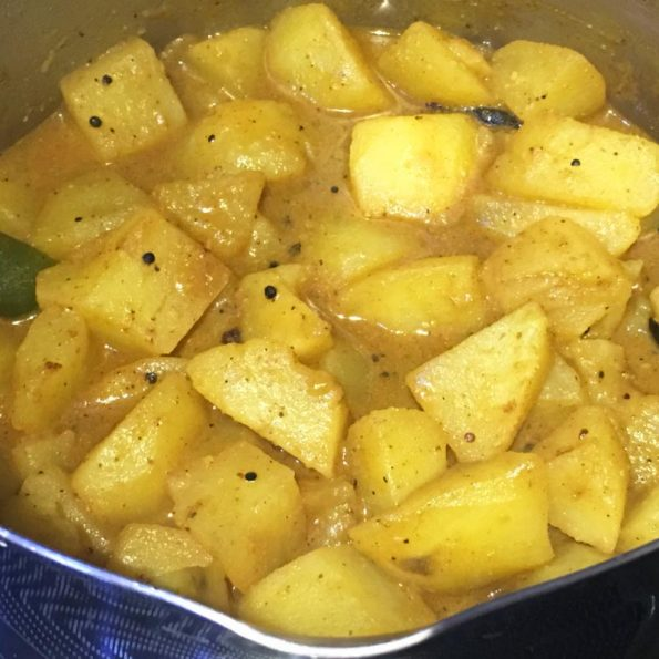 easy potato masala curry recipe