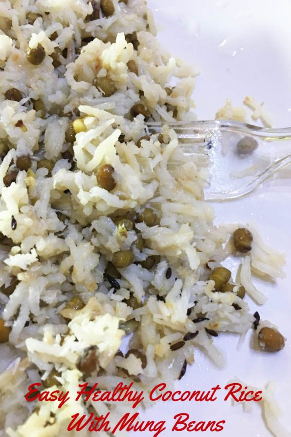 indian coconut rice recipe healthy pressure cooker