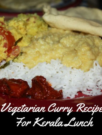 kerala vegetarian curry recipes for lunch