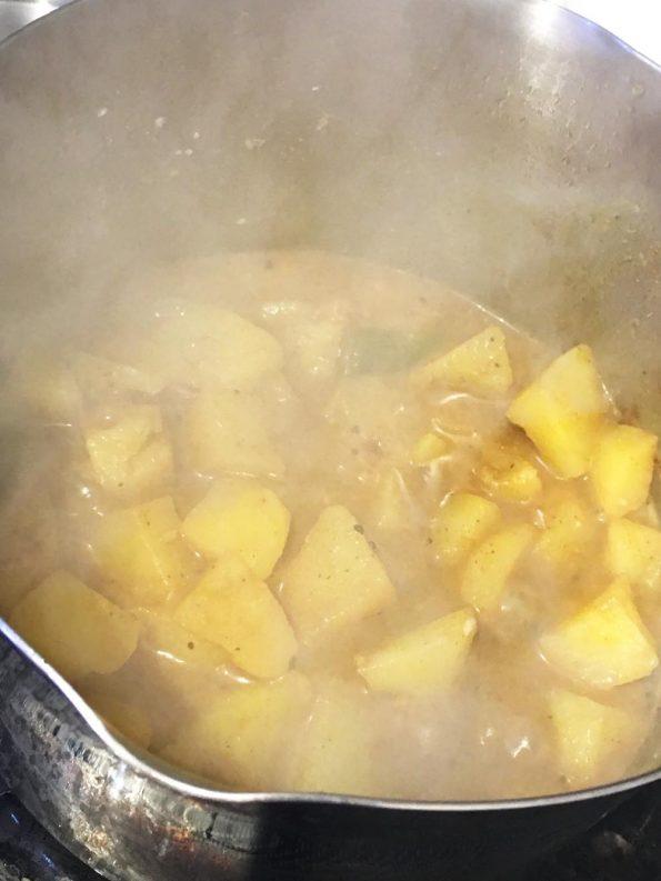 make potato masala curry indian recipe