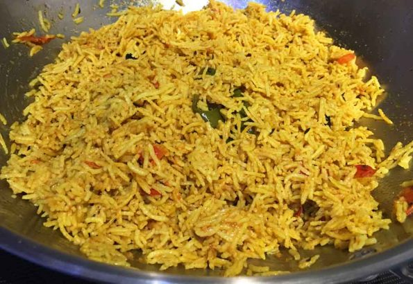 make tomato rice for dinner or lunch