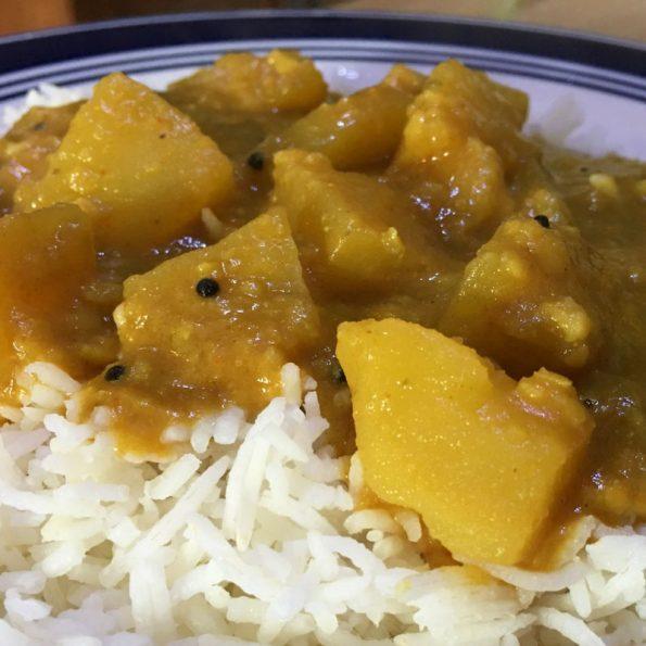 potato sambar for rice