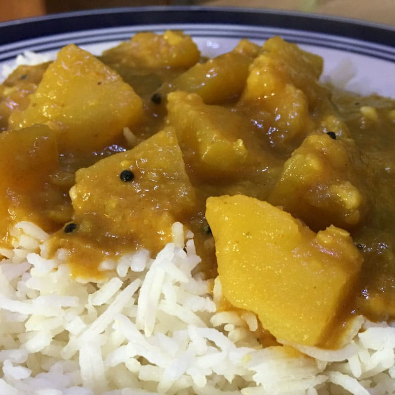 potato sambar for rice