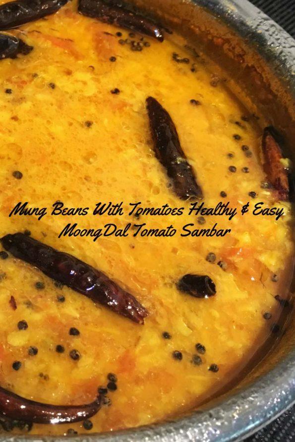 recipe for moong dal sambar for rice dosa idli