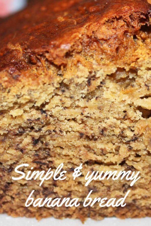 simple banana bread recipe using 3 bananas
