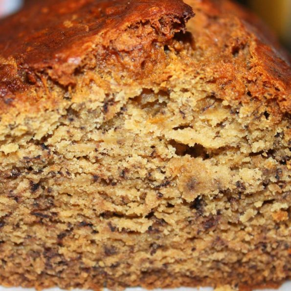 simple banana bread recipe with 3 bananas