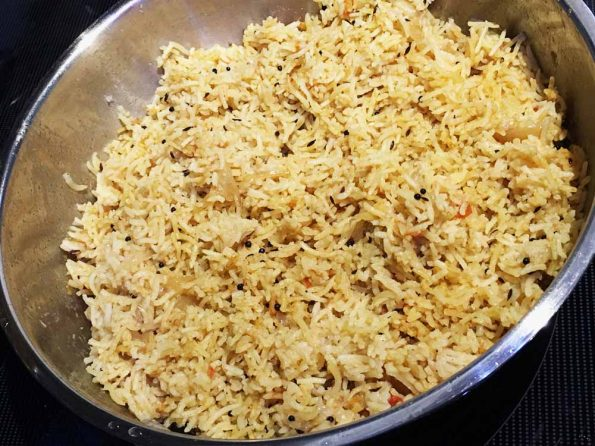 south indian curry rice recipe