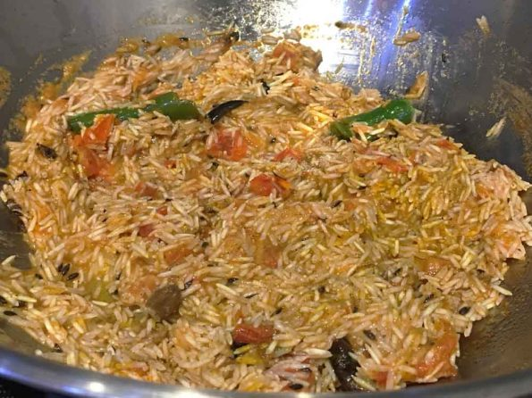 thakkali rice for lunch and dinner
