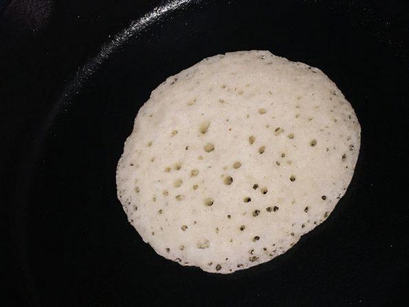 yeast semolina flour pancakes recipe vegan