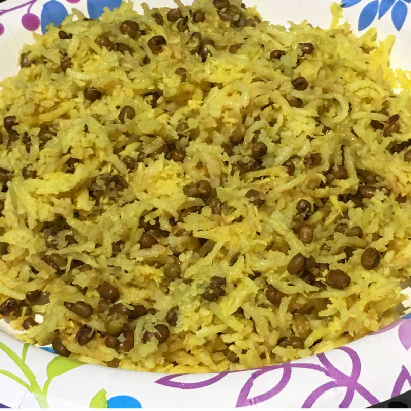yellow rice and beans recipe indian style
