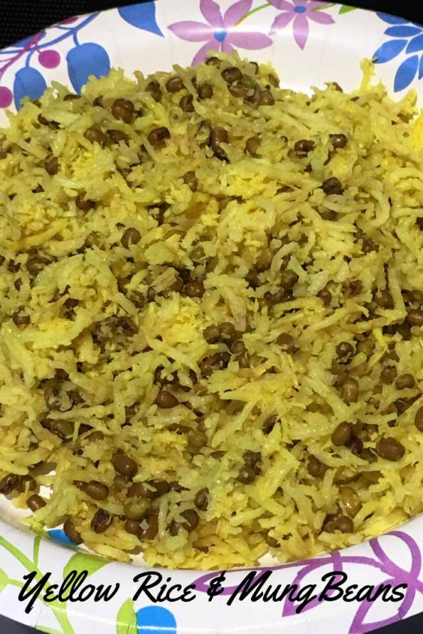 yellow rice and beans recipe south indian style