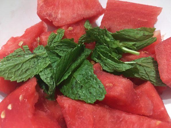 watermelon salad vegan recipe