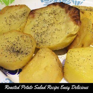 easy oven roasted potato salad recipe