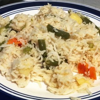 Easy Vegetable Rice Recipe – Simple & Easy Vegetable Rice Recipe For Lunch, Dinner