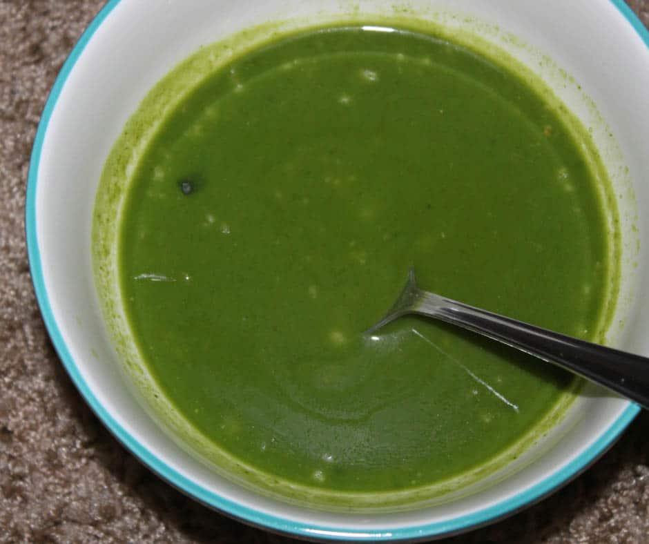 healthy spinach soup recipe vegan