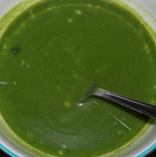 healthy spinach soup recipe without cream