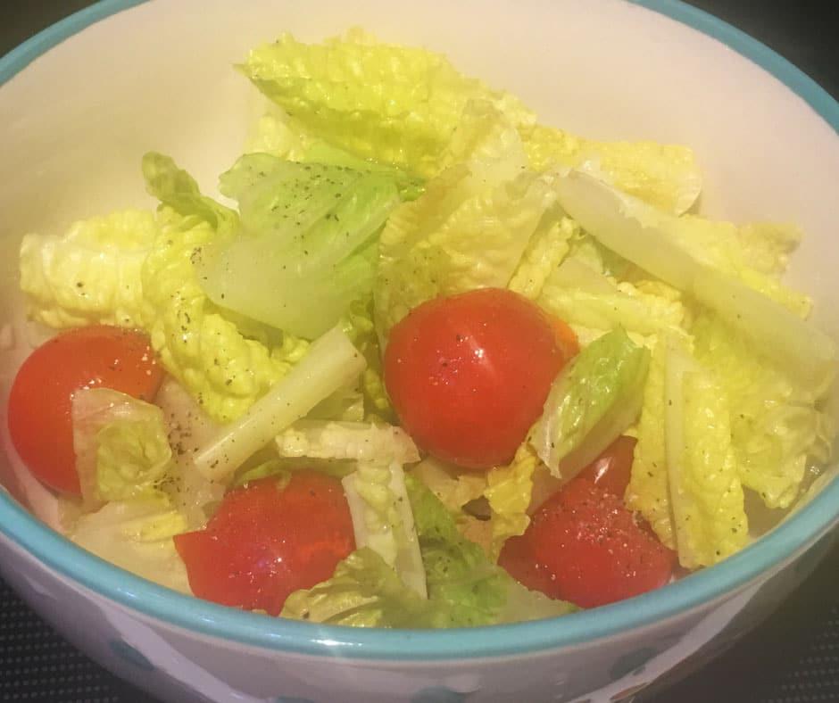 lettuce tomato salad recipe for hot summer