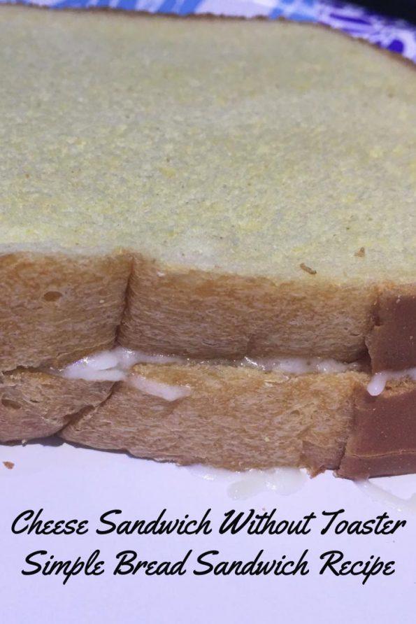 make simple bread sandwich without sandwich maker