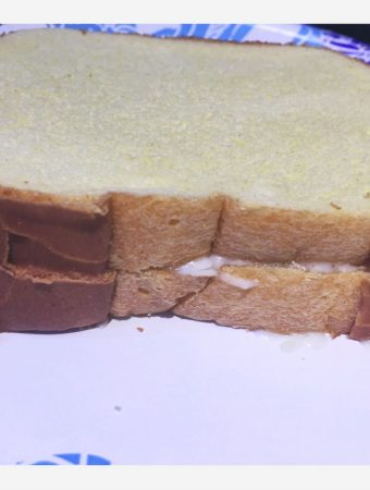 make simple bread sandwich without toaster