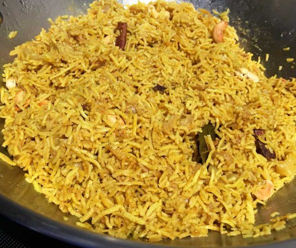 masala rice recipe indian style