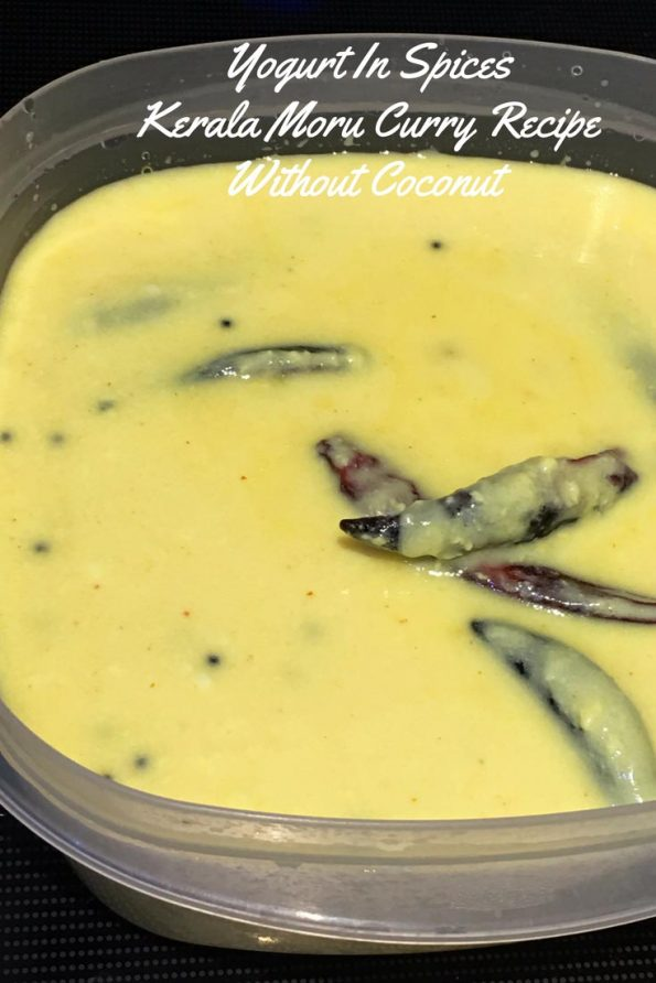 moru curry recipe kerala style without coconut