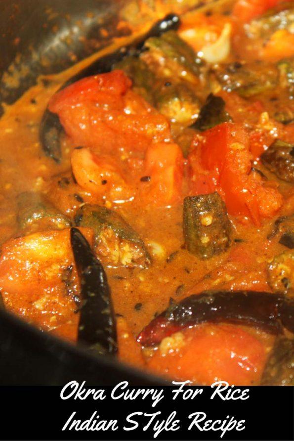 okra curry indian style recipe bhindi masala