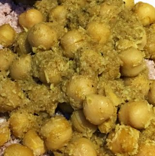 One Pot Chickpea Curry – Easy Chickpea Curry With Coconut – Easy Kadala Curry Recipe