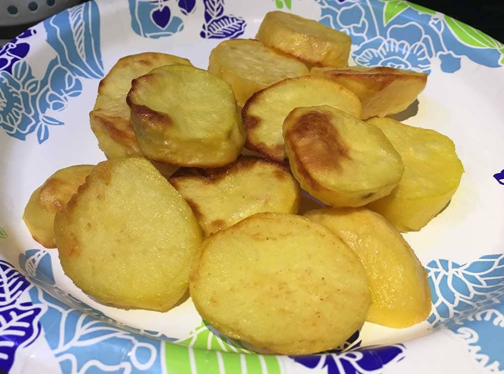 oven roasted potatoes for salad recipe