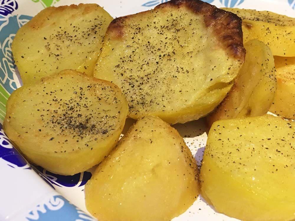 oven roasted potatoes salad recipe