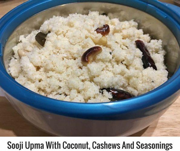 rava upma with coconut kerala recipe