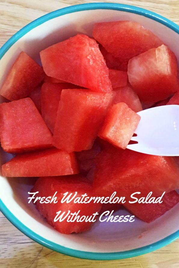 refreshing watermelon salad vegan recipe