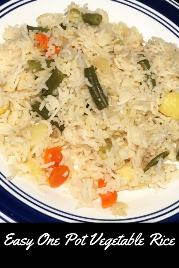 simple easy vegetable rice recipe dinner