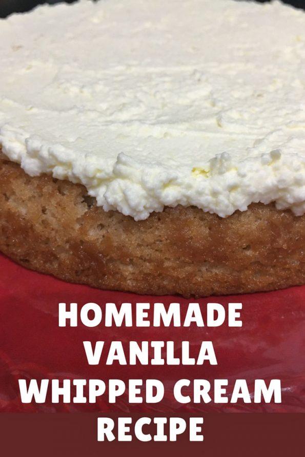 simple whipped cream recipe