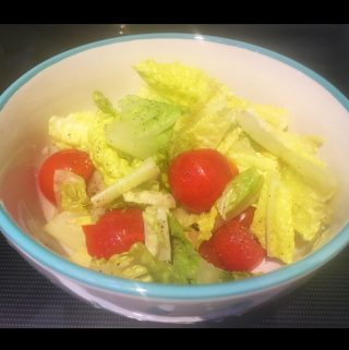 Lettuce Tomato Salad Recipe – Romaine Lettuce Cherry Tomatoes Salad Recipe