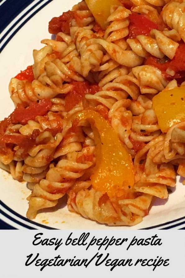 bell pepper pasta recipe for dinner