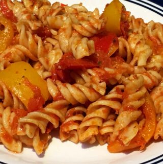bell pepper pasta recipe vegan