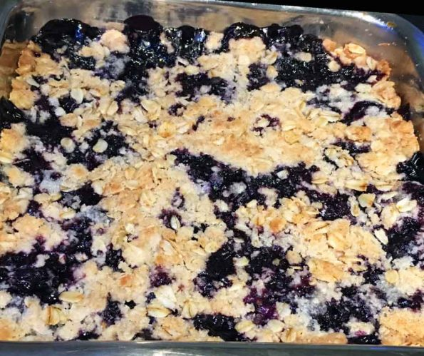 blueberry crumble pie recipe easy