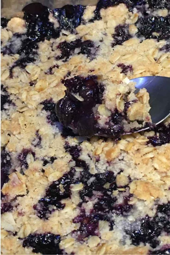 blueberry crumble recipe easy