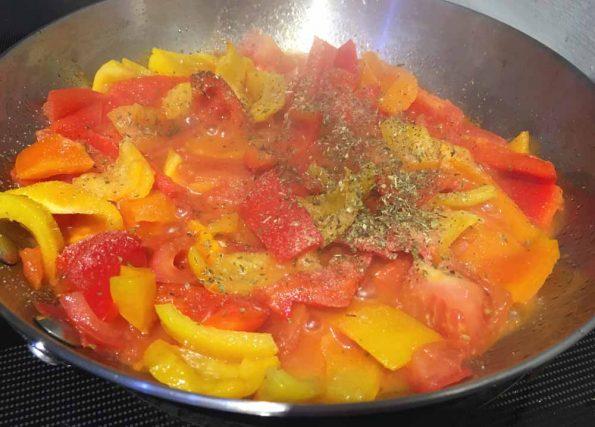 easy bell pepper pasta recipe