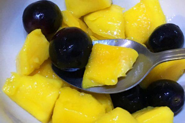 easy mango grape salad recipe for summer