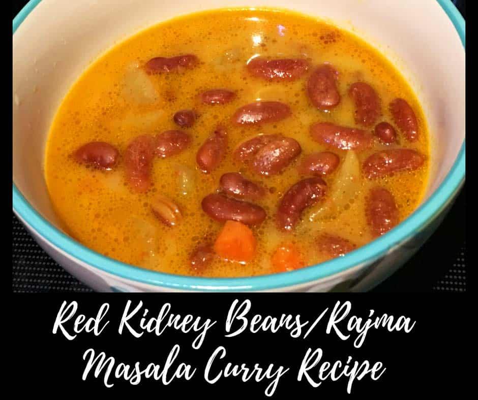 easy rajma chawal recipe with veggies