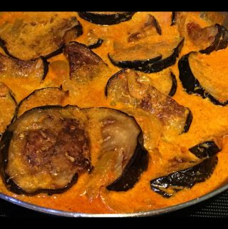 eggplant curry indian recipe creamy