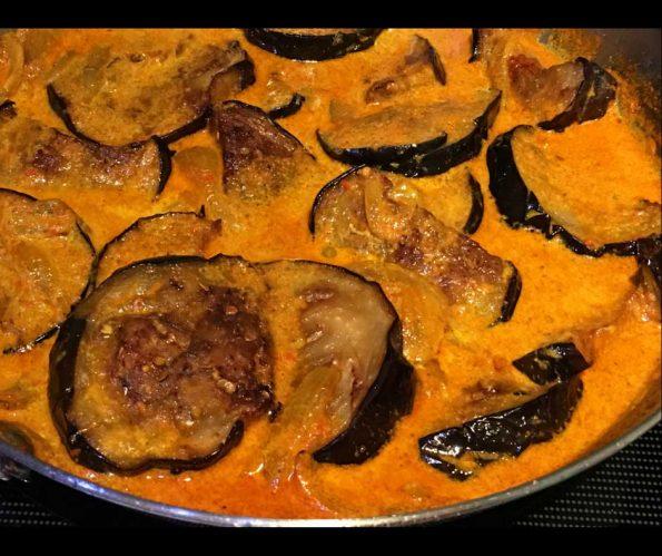 eggplant curry indian recipe creamy