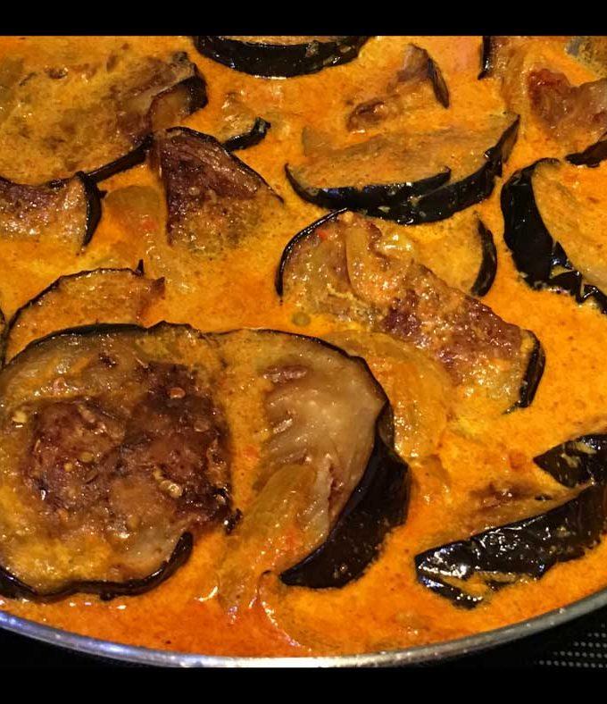 Eggplant Curry Indian Recipe In Tomato Gravy – Creamy Eggplant Curry Indian Recipe