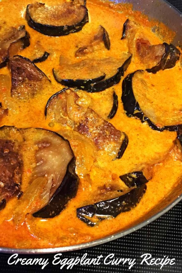 eggplant curry indian recipe easy