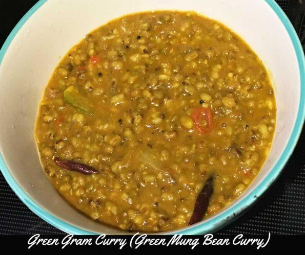 green gram curry recipe cherupayar curry for puttu