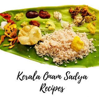 kerala onam sadya recipes 2017