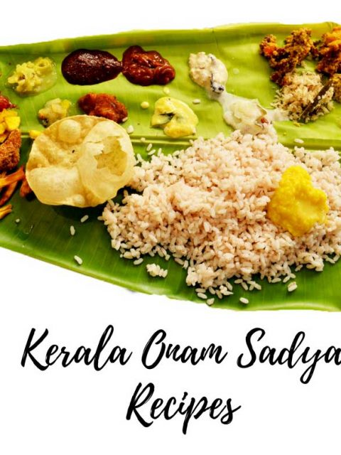 kerala onam sadya recipes 2017