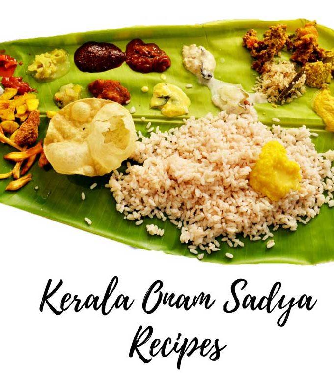 10 Onam Sadya Recipes For Kerala Onam Sadya – Onam Items – Onam Dishes List